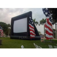 Buy cheap Advertising Inflatable Outdoor Movie Screen , Inflatable Projector Screen from wholesalers