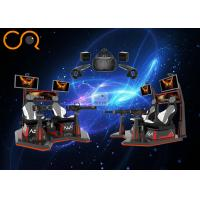 Buy cheap High End 9d Virtual Reality Cinema Double Gatlin Shooting With Space Location System from wholesalers