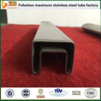 Buy cheap Cheap Price Stainless Steel Square Slot Tube For Railing Used product