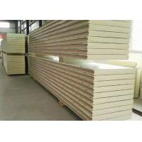 Buy cheap 100mm Polyurethane Insulation Panels , 3 Layers Cold Room Sandwich Panel from wholesalers