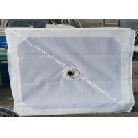 Buy cheap No Blocking Press Filter Cloth , Sludge Dewatering Micron Water Filter Fabric from wholesalers