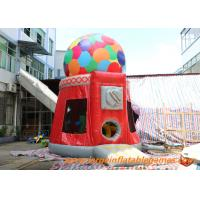 Buy cheap Candy Machine Inflatable Air Bouncer / Inflatable Dome Jumpung Castle from wholesalers