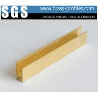 Buy cheap C3800 C3604 4 ft Brass Profiles U Shaped Metal Brackets Channel from wholesalers