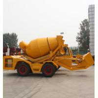 Buy cheap 2.5 cbm self loading truck concrete mixers product