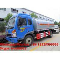 Buy cheap 2018s best price customized FAW RHD 7cbm Oil bowser vehicle for sale, Wholesale price FAW RHD fuel tank delivery truck from wholesalers