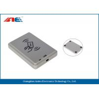 Buy cheap Non Contact ISO14443A USB RFID Reader NFC Smart Card Scanner With Free SDK from wholesalers