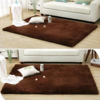 Buy cheap soft solid fluffy shaggy area rug dining carpet floor mat  Polyester shaggy carpet Shaggy rug  80x150,120x170,160x230cm from wholesalers