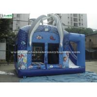 Buy cheap Commercial Dolphin Inflatable Combo Bounce House Games With Sea World Animals product
