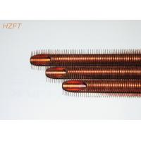 Buy cheap Custom Soft Annealed Finned Copper Tube for Solar Heating Systems from wholesalers