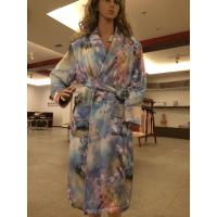 Buy cheap 100% silk night-robe from wholesalers
