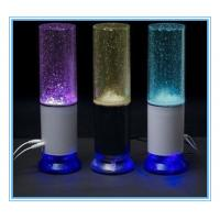 China Water Fountain Speaker with colorful LED light touch controller build-in chargable Li-battery on sale