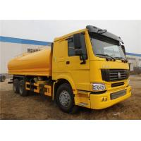 Buy cheap Sinotruk HOWO 10 Wheeler Truck , 18000L 20000L 18 tons 20 tons Water Tanker Truck from wholesalers