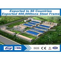 Buy cheap structural steel work and Prefab Steel Frame recyclable provide to Mexico from wholesalers