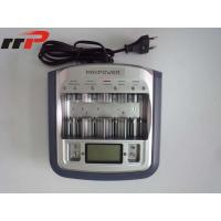 Buy cheap Universal AA AAA Size Ni-CAD / Ni-MH battery charger With Digital Display from wholesalers