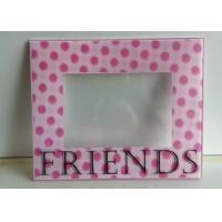 Buy cheap Decorative 3D Wall Mounted Acrylic Photo Frames With Magnet And Screen Print from wholesalers