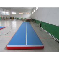 Buy cheap No Noise Gymnastics Training Mats , Contemporary Air Bounce Mat For Kids from wholesalers