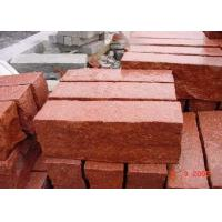 Buy cheap Red Natural Paving Stones Tile For Stair Steps / Countertop Granite Material from wholesalers