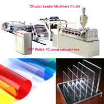 Buy cheap Plastic Sheet Production Machine, PET PMMA Acrylic Polycarbonate sheet machine from wholesalers