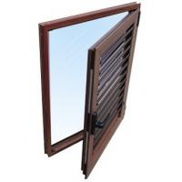Buy cheap White, champagne powder coated aluminium louver windows for office, home with simple style from wholesalers
