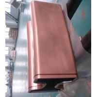 Buy cheap Dia 850mm Round tube And Bloom Sized Copper Mould Tube For CCM from wholesalers