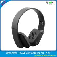 Buy cheap latest product of china headphone market stereo wireless bluetooth headphones for iphone from wholesalers