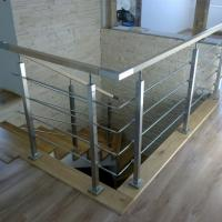 Buy cheap Solid Rod Stainless Steel Railing Design for Balcony / Stairs from wholesalers