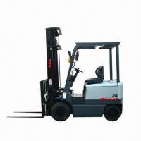 Buy cheap Electric forklift with 2T maximum lift capacity and DC electric motor from wholesalers