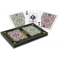 100% Plastic KEM Jacquard Marked Playing Cards 2 Decks Set For Poker Cheat