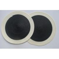 Buy cheap Round placemat,  knitting placemat , woven table mat product