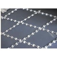 Buy cheap Customized Size High Tensile Barbed Wire 304 Stainless Steel For Field Jail from wholesalers