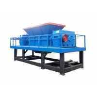 Buy cheap Multifunctional Double Shaft Waste Plastic Shredder / Crushing Machine 3.5 Don from wholesalers