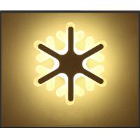 Buy cheap Snowflake Acrylic LED wall lighting /interior led wall lights for corridor from wholesalers