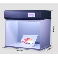 Buy cheap T90-7 adjust illumination LED light box for camera calibration with D65, A, D50, from wholesalers
