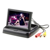 Buy cheap YUEXU 4.3 Inch Foldable Car Digital TFT LCD Monitor Rear View Screen Auto Video Player for Parking Backup Camera from wholesalers