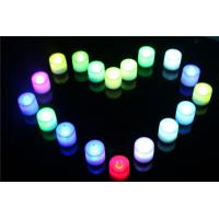 Buy cheap Wholesale Real Wax Color Changing Pillar LED Candle Light from wholesalers