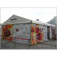 Buy cheap Custom Aluminum Frame Printed Fabric Tent Structures , Corporate Event Tent from wholesalers