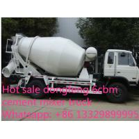 Buy cheap dongfeng 153 yuchai 4*2 LHD/RHD 180hp 6cbm 4*2 small concrete mixer truck for sale. Best price cement mixer truck from wholesalers