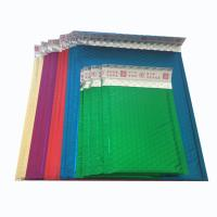 China Custom aluminum foil bubble envelope metallic mailers for shipping on sale