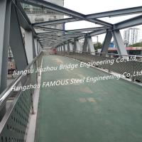 Buy cheap Steel Structure Pedestrian Bridge Crossroad Overpass Bridge And Flyovers For Urban Traffic Solutions from wholesalers