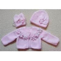 Buy cheap Worsted Anti - Bacterial beautiful crochet knit baby wear with 100% cotton from wholesalers