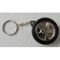 Buy cheap Corporate Gifts Promotional Items , Tyre Shape Tape Measure Keychain from wholesalers