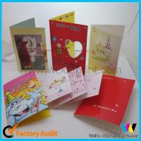 Buy cheap Professional Greeting Custom Card Printing For Birthday / Wedding / Christmas from wholesalers