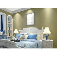 Buy cheap Pure color Stripes Simple kids modern wallpaper Nonwoven Wet embossed from wholesalers