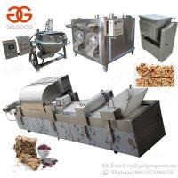 Buy cheap Gold Supplier Breakfast Peanut Chikki Candy Fruit Energy Granola Bar Making Chocolate Cereal Bar Machine from wholesalers