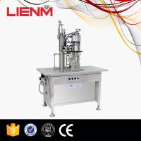 Buy cheap High Quality Semi-auto Aerosol Filling Machine 3 in 1 type in Guanghzou from wholesalers