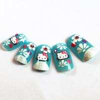 Buy cheap Hello Kitty Artificial Nail from wholesalers