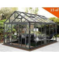 Buy cheap Classic Winter House for Garden and Agriculture/Glass Greenhouse for Vegetable and Flowers Growing/High Quality planter from wholesalers