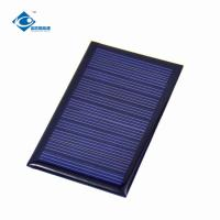 Buy cheap Customized Residential Solar Power Panels ZW-745458 mini solar photovoltaic from wholesalers