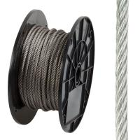 Buy cheap 304 316 Stainless Steel Wire Rope Flexible 7 X 37 For Marine / Uplifting from wholesalers