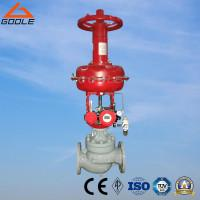 Buy cheap China HTS Type Pneumatic  Steel/Stainless Steel Diaphragm Flanged Globe Control Valve from wholesalers